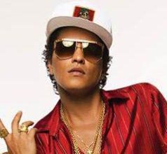 Bruno Mars es Doble Platino