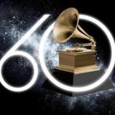 60° entrega de los Grammy